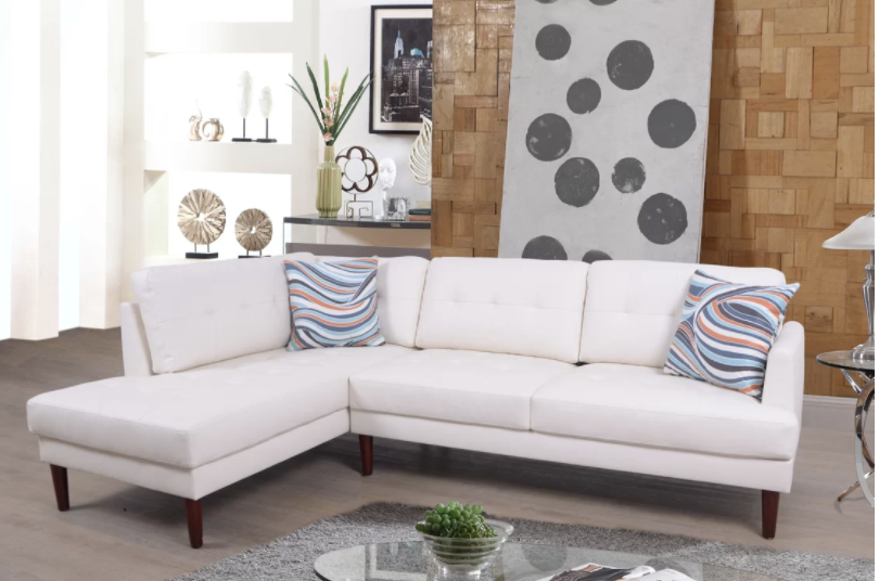 6 types of small sectional sofas for small spaces condo small rh pinterest com
