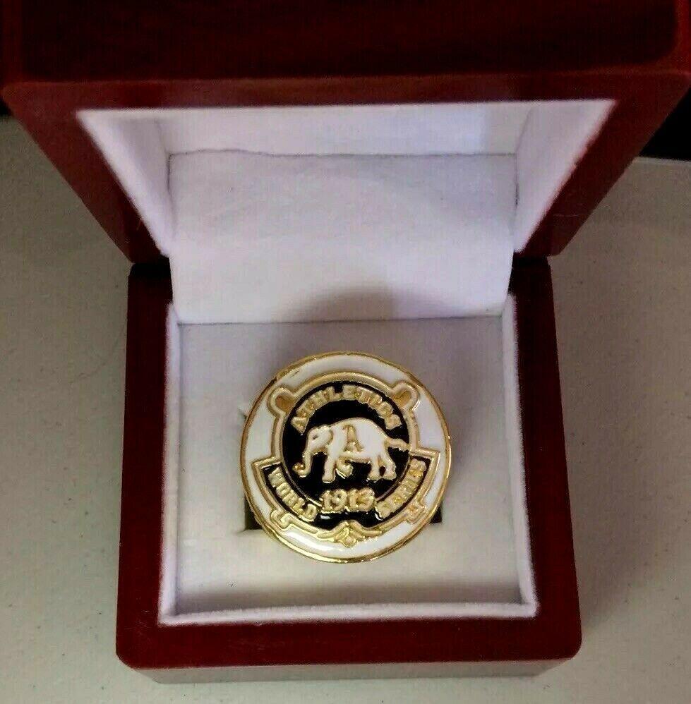 Vintage 1913 Philadelphia Athletics Commemorative Ring Size 11 24k