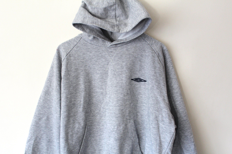 Umbro soccer football Vintage Sweatshirt sweater black gray Size Women S