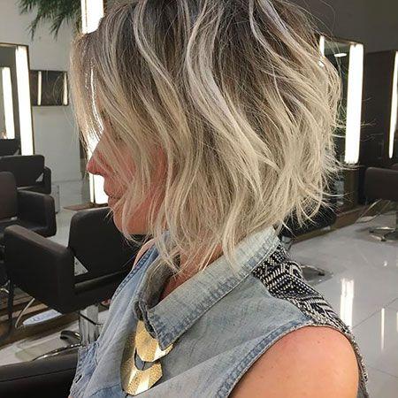 Short Messy Hair Frisur Pinterest Frisur Bobfrisuren Und Bob