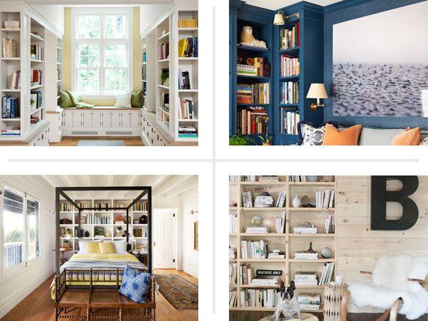 7 surprising built in bookcase designs sensational storage built rh pinterest com