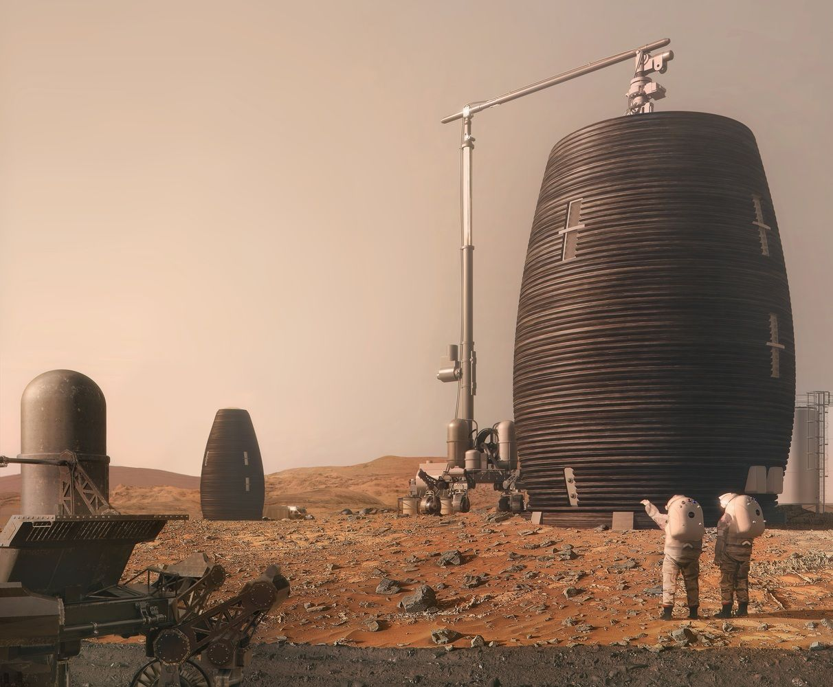 Gallery of AI SpaceFactory Builds 3D Printed Mars