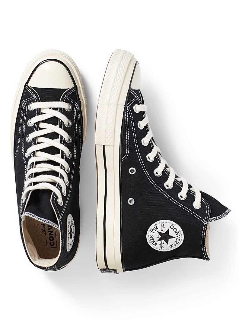 converse 70s black high