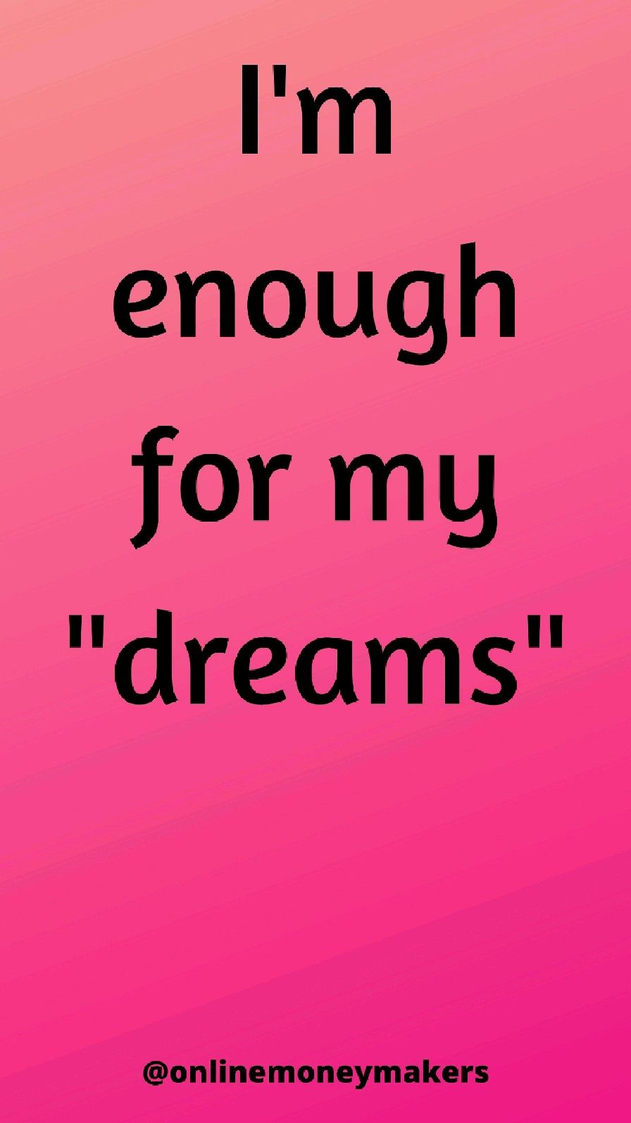 i am enough affirmation Quotes