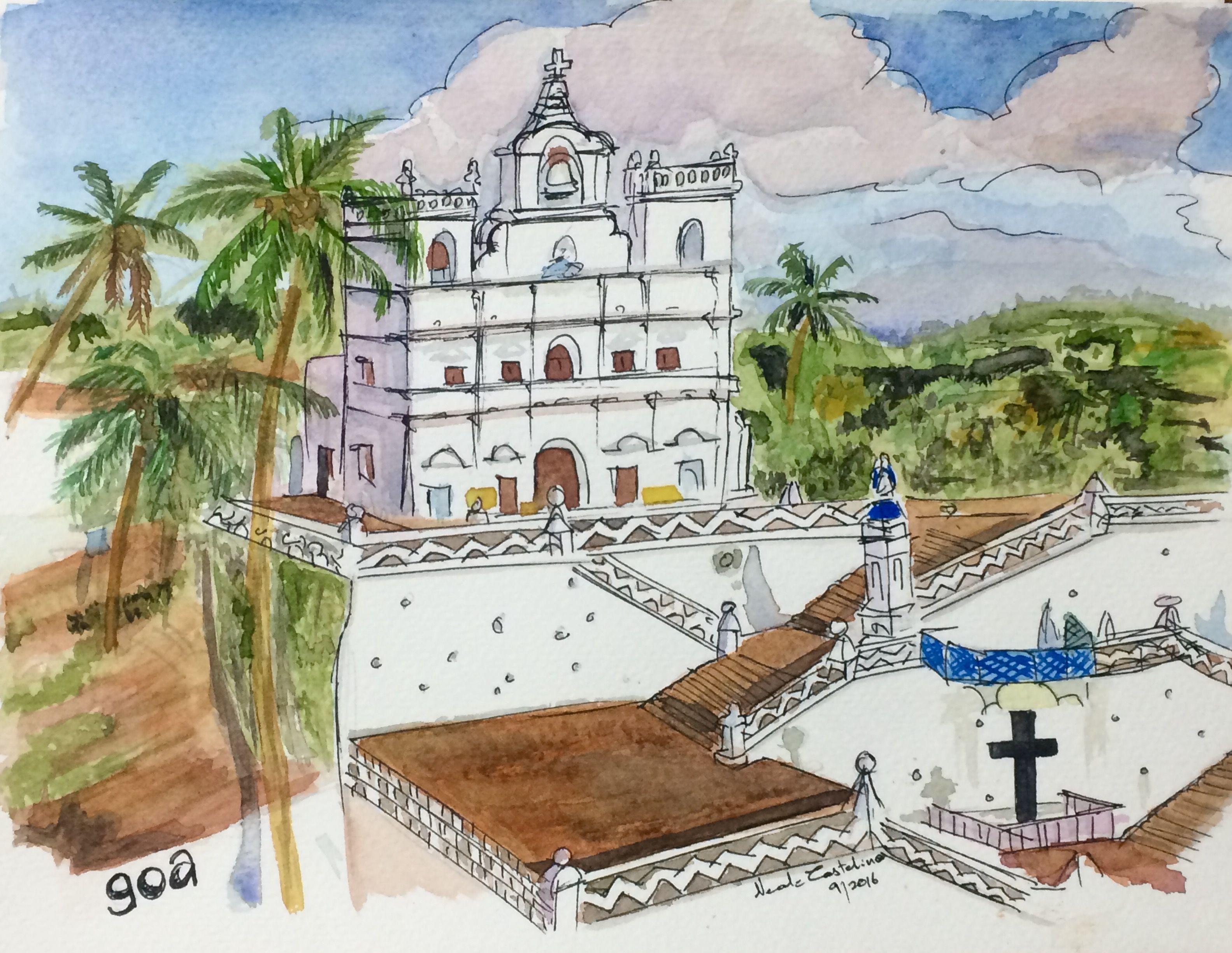Watercolor artist magazine palm coast fl -  Watercolor Watercolorartist Watercolorpainting Mumbai Nealecastelinoart Blueberry Nealecastelino Letscreateart