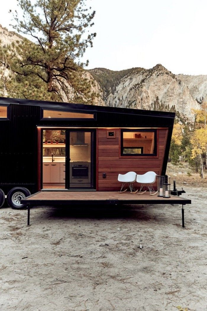 Draper Tiny House on Wheels moderne Architektur von Land Ark RV