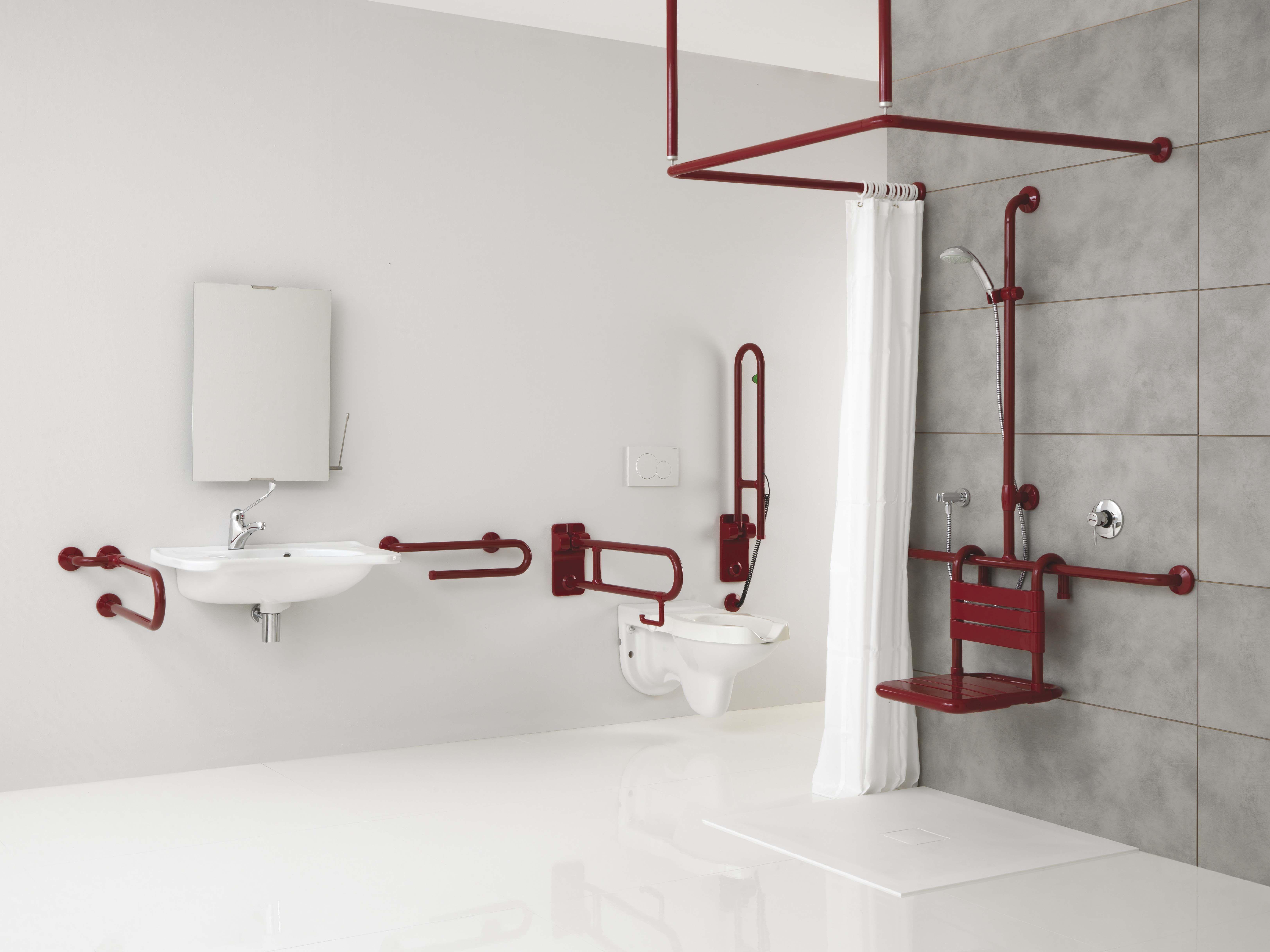 Bagno Handicap ~ Ambiente bagno sicuro cura
