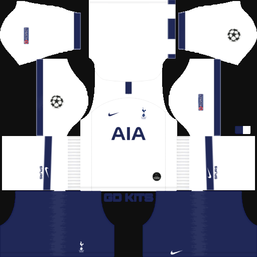 Kits Tottenham Hotspur Uefa Champions League 2019 2020 Dls Fts 15 Dream League Soccer 2019 2020 Kits Kits Dream League Soccer Update Dlskit Fts Kit Thể Thao