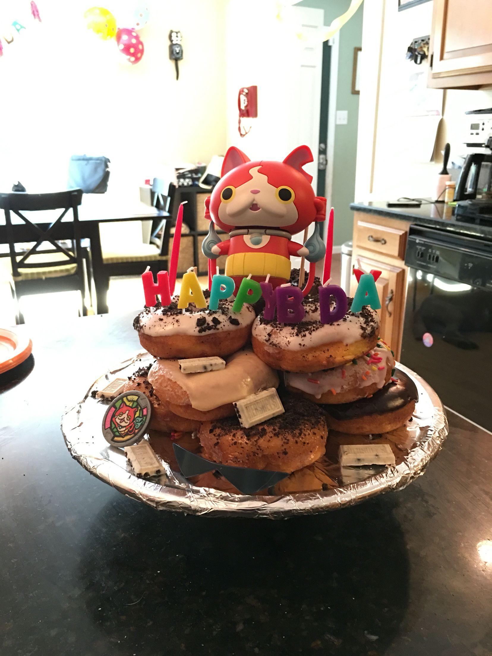 Yo Kai Watch Birthday Cake Artsy Fartsy In 2018 Pinterest