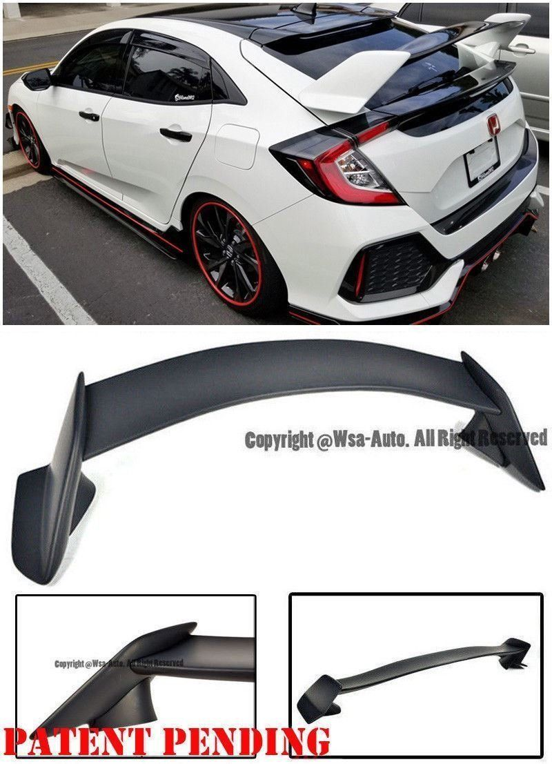 For 01-05 Honda Civic 2Dr 4Dr Type-A RS Style Side Skirts Skirt Poly Urethane