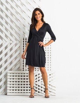 7d3b23fd76d7 Vestido-Medio-Manga-Longa-Preto-Zinzane-012588-01   vestidos de ...