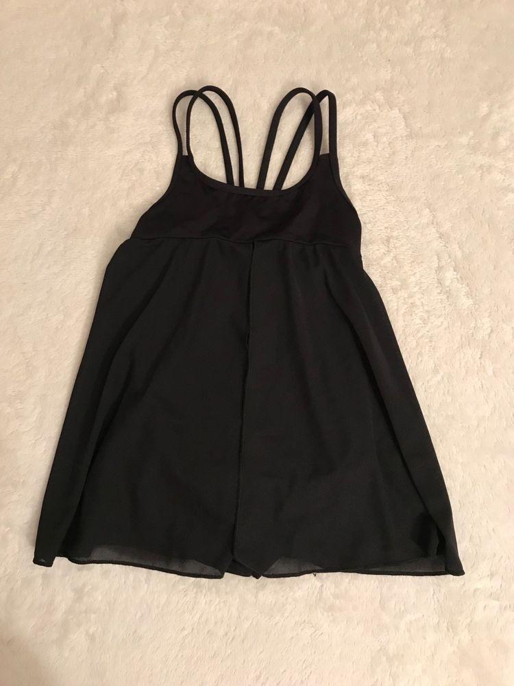 315b2f95d04c Dance costume black leotard girls medium child motionwear  fashion ...