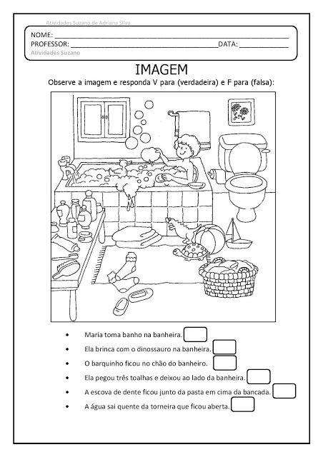 Leitura De Imagens 3 Em Pdf Atividades Pedagogica Suzano