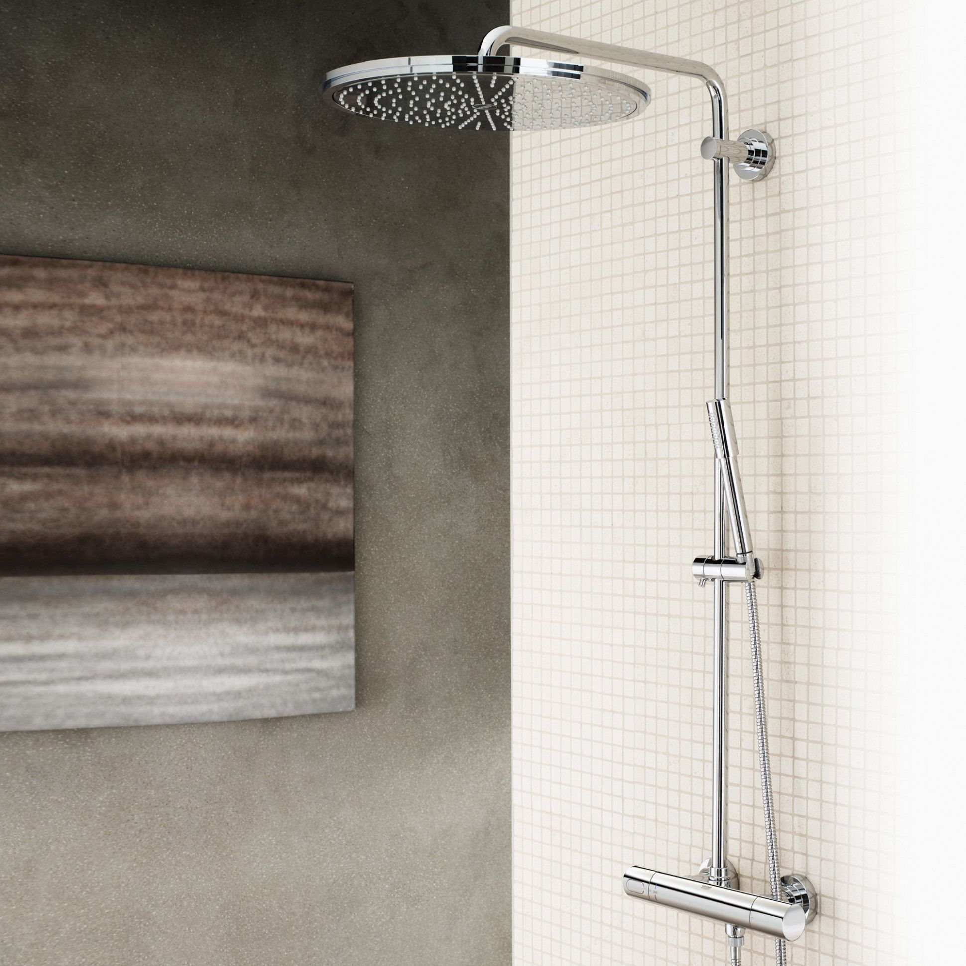 Grohe Regendouche Euphoria Pin By Home Design On Home Design Shower Systems Bathroom