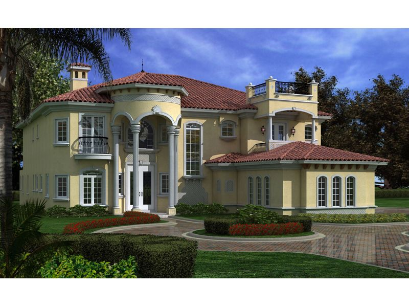 Florida Style House Plans 5131 Square
