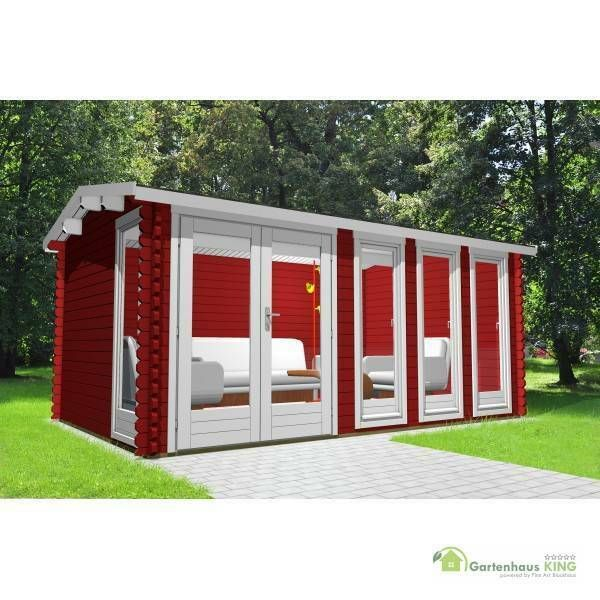 eBay Sponsored Gartenhaus Holz 5x3m Holzhaus Blockhaus