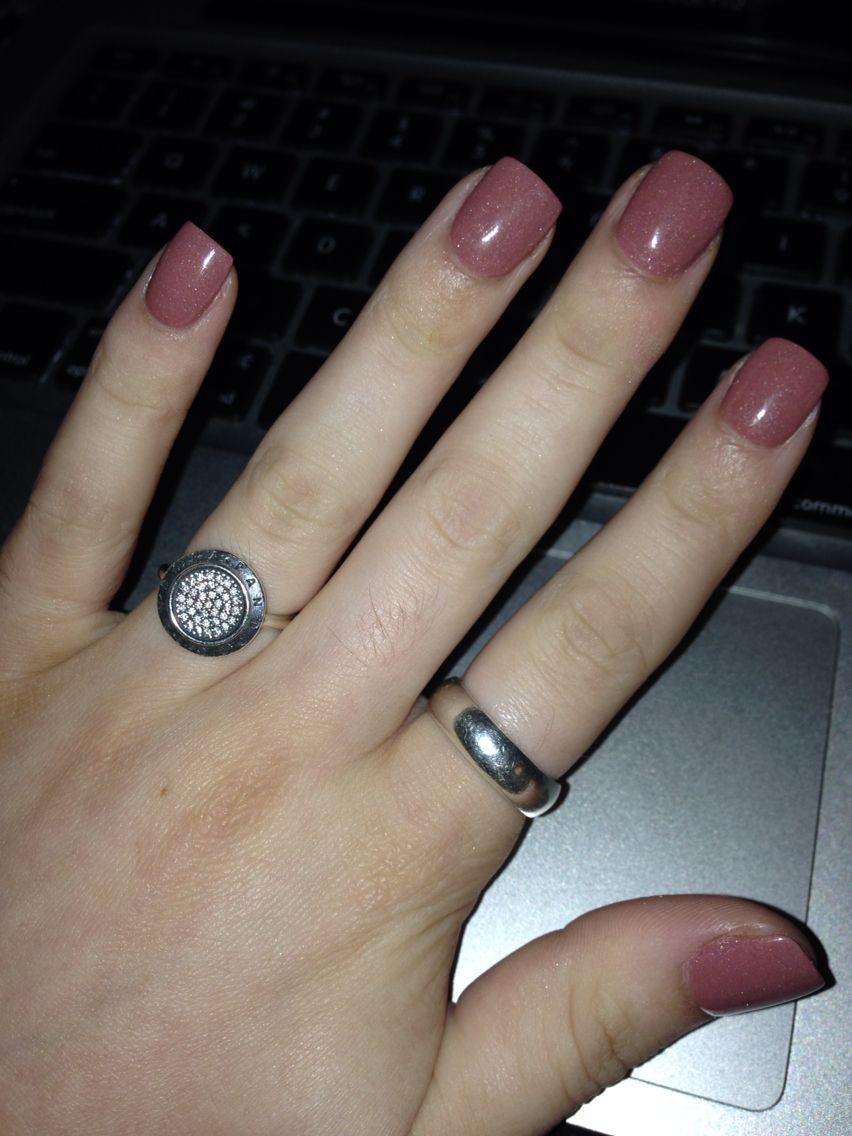 neutral colour sns nails in 2019