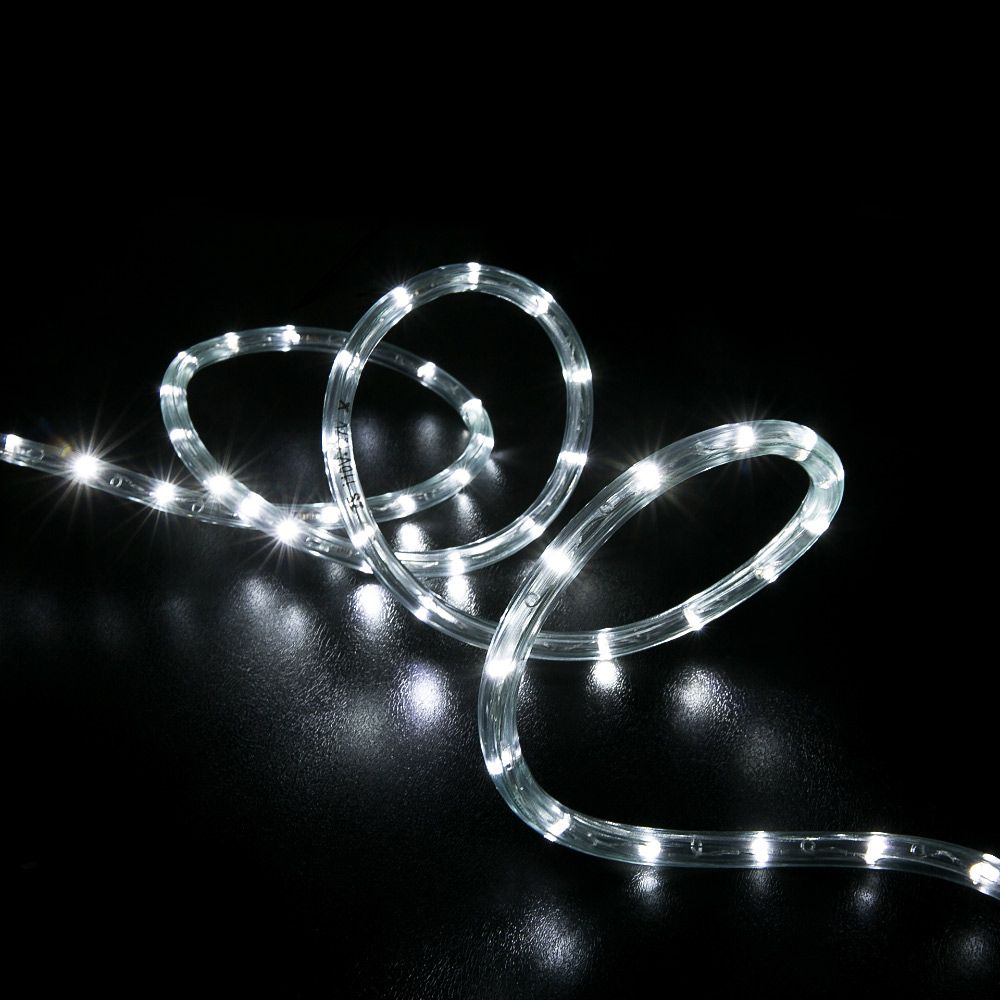 10 Cool White Led Rope Light Home Outdoor Christmas Lighting Led Rope Lights Rope Lights Outdoor Rope Lights