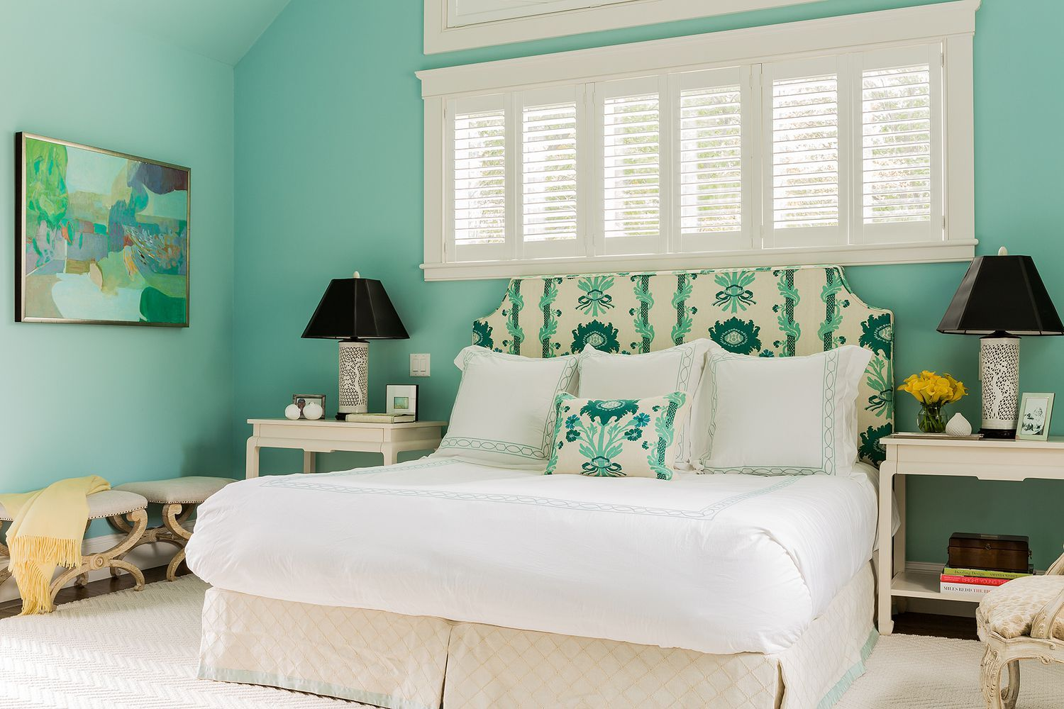 Elle decor master bedroom   Vibrant Room Colors to Brighten Up Your Home  For the Home