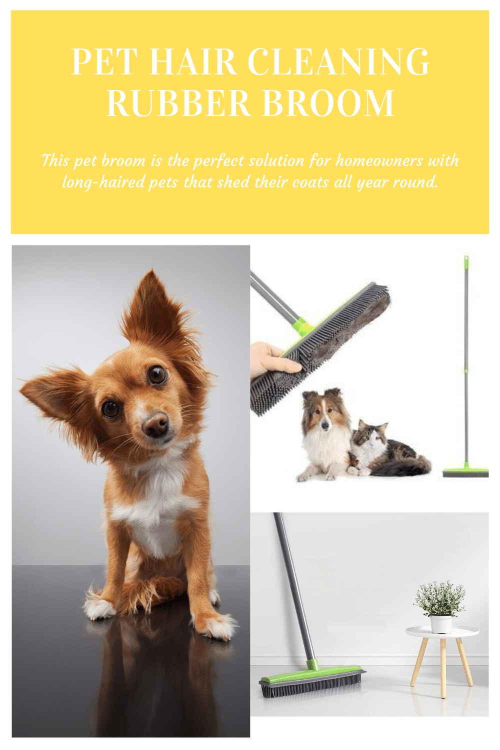DO YOU STRUGGLE WITH PET HAIR ALL OVER YOUR HOUSE? The Pet