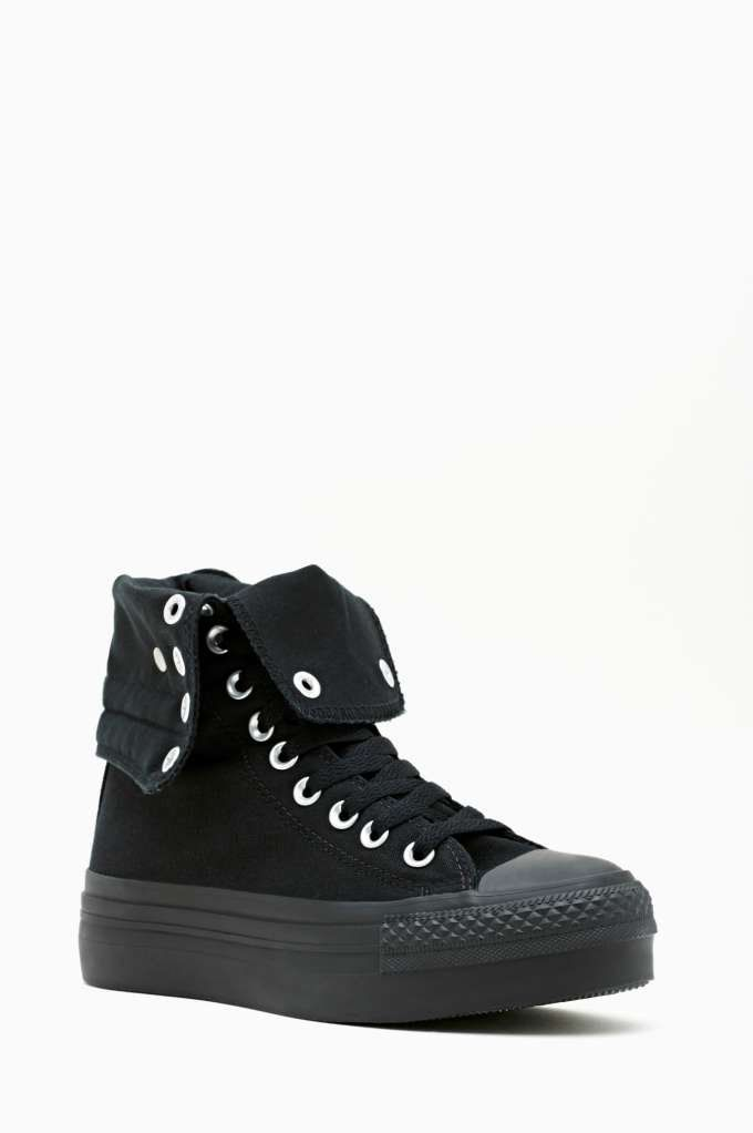 Converse All Star High-Top Sneaker - Black on Wanelo  62ff43bc3