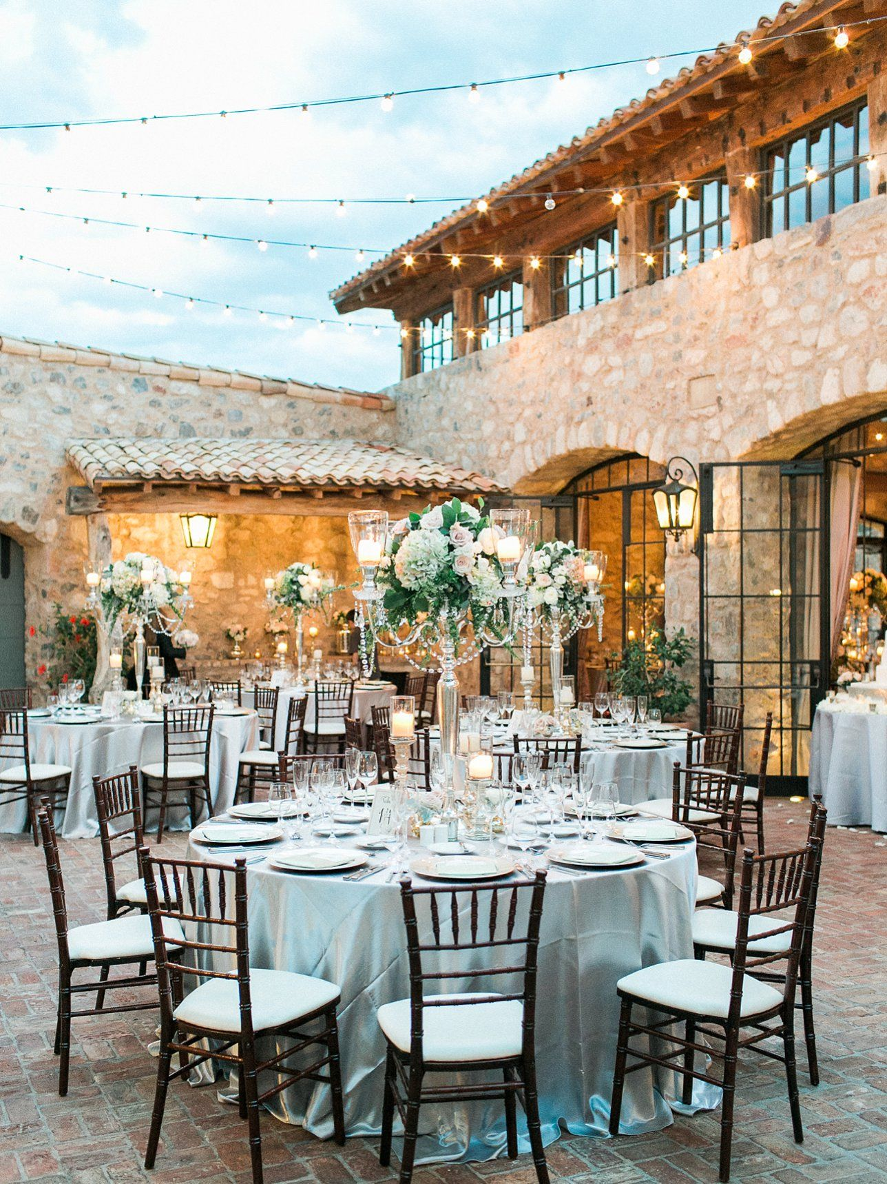 Elegant wedding, crystal centerpiece, candle topiary - Rachel Solomon Photography Blog | Maggie and Drew – Silverleaf Wedding | http://blog.rachel-solomon.com