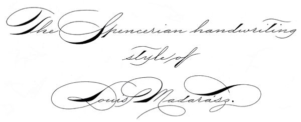Madarasz Spencerian