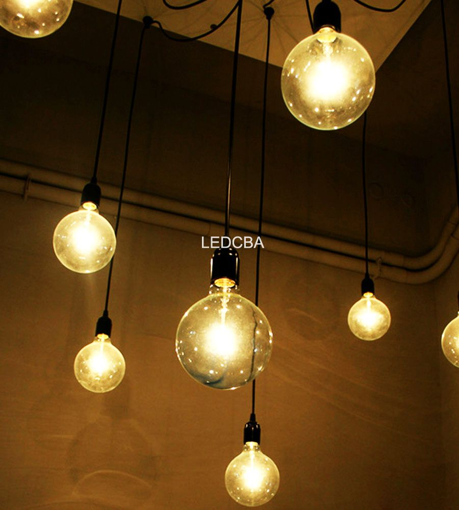 Lampara Globo Filamento Led 10 W 75 W Retro Luz Calida 239