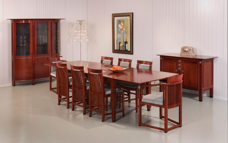 Art deco art deco meubelen klassieke keuken en eethoek