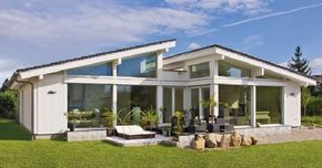 Fertighaus bungalow pultdach  Bungalow Glano - - http://www.hausbaudirekt.de/haus/bungalow-glano ...
