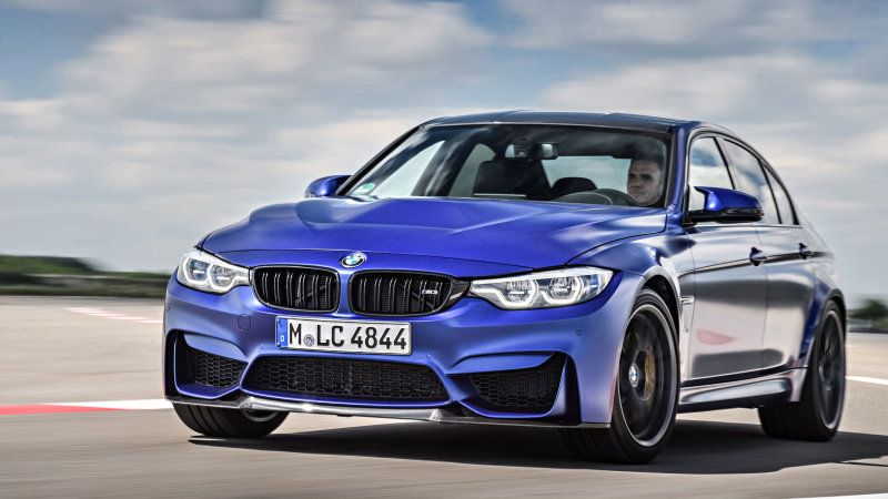 2018 Bmw M3 Cs Road Test Review With Specs Bmw Bmw M3 Car
