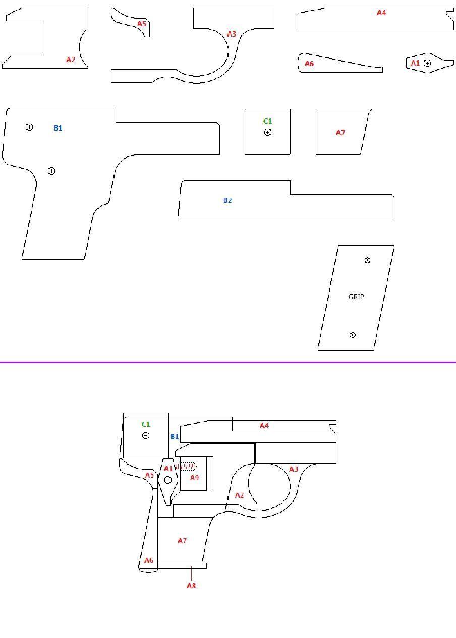 lilliput rubber band gun diy pinterest. Black Bedroom Furniture Sets. Home Design Ideas