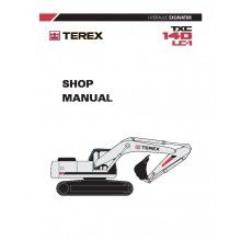 Terex TXC 140LC-1 Hydraulic Excavator Shop Manual PDF