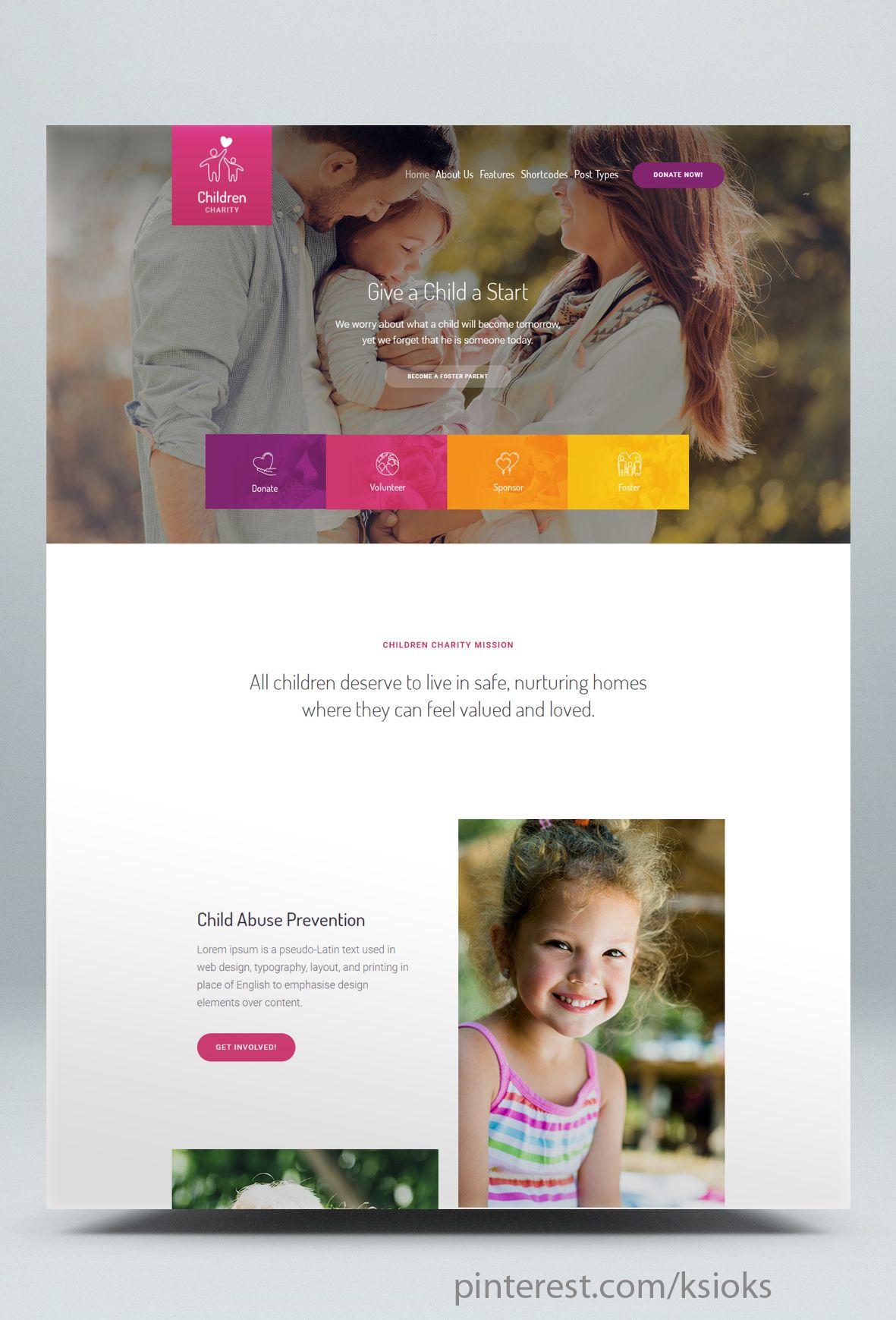 Children Charity Nonprofit Ngo Wordpress Theme Children Charity Charity Charity Organizations