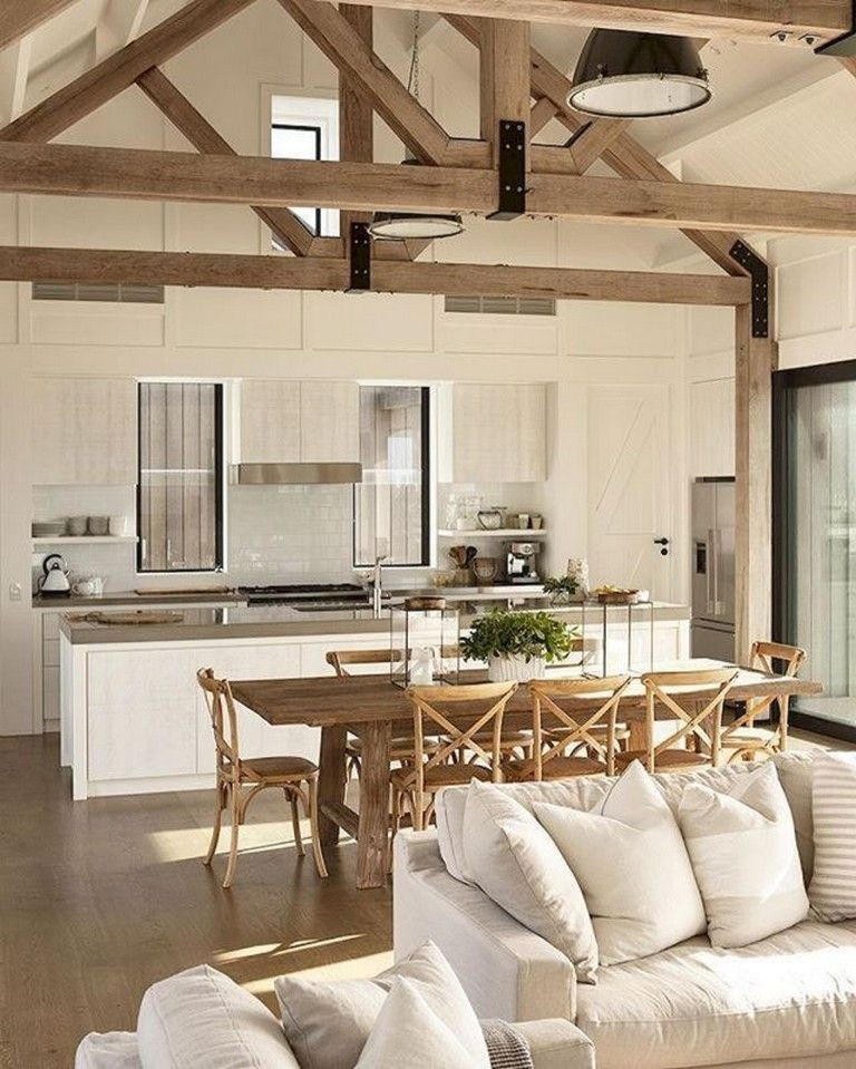 12 Rustic Dining Room Ideas: 75+ Rustic Farmhouse Style Kitchen Makeover Ideas