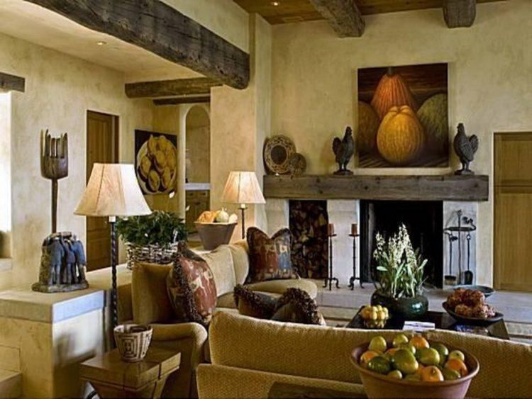 20 amazing living rooms with tuscan decor southwest decor tuscan rh pinterest com