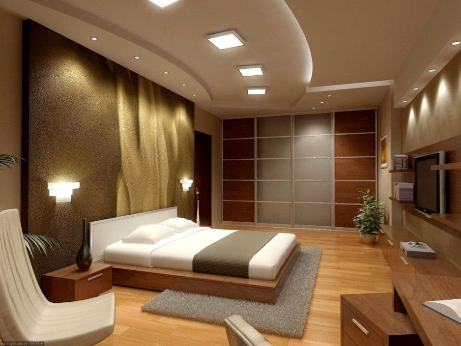 Bedroom Luxurious Modern Hotel Bedroom Interior Design Ideas
