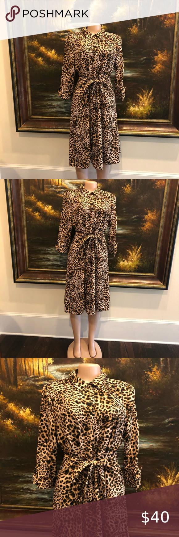Calvin Klein Cheetah Print Dress Calvin Klein Collared Button Up Cheetah Print Wrap Dress Long Sleeve And Cheetah Print Dress Print Dress Printed Wrap Dresses [ 1740 x 580 Pixel ]