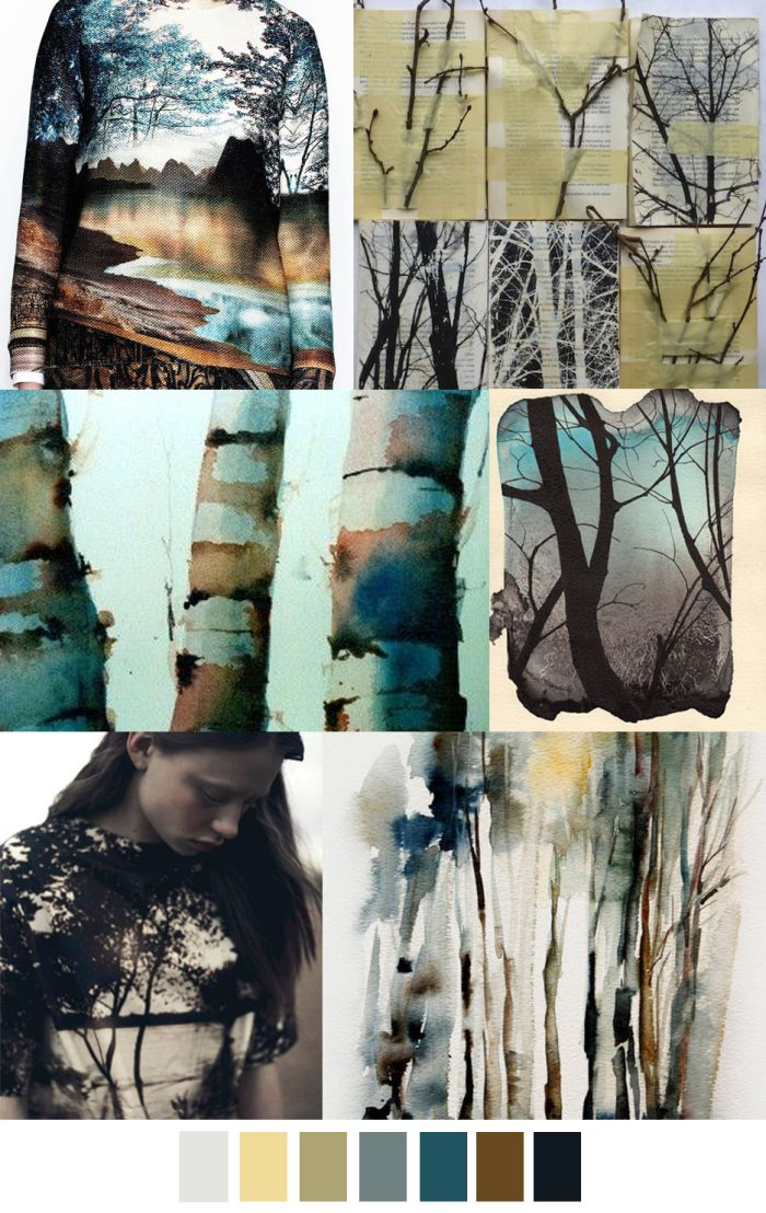 Wohnideen Trends 2017 tree of pattern curator ss 17 ss and mood boards
