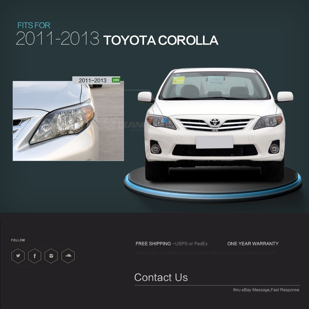 Vland Auto Led Head Light For Corolla 2011 Ce Ccc Certification Projector Head Lamp View Car Accessories For Corolla Headlight Vland Product Details From Z Corolla 2011 Corolla Car Led