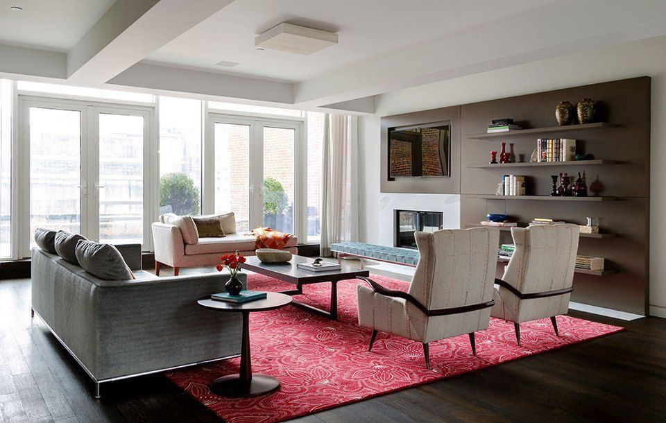 Contemporary Living Room Found on Zillow