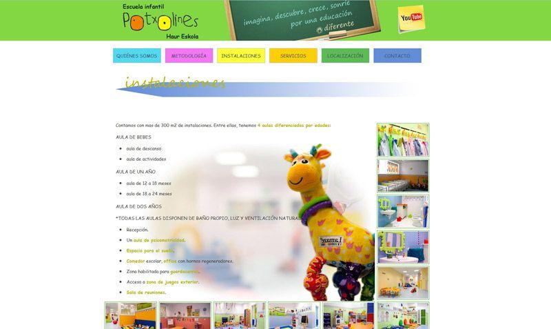 Potxolines. Escuela Infantil en Bilbao (Bizkaia)