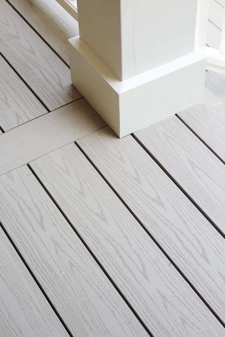 Azek Harvest Collection Of Polymer Decking Pvc Decks Timbertech In 2020 Deck Railing Design Timbertech Deck Design Software