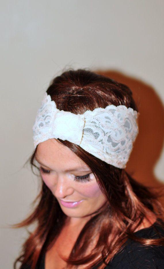 Turban Headband Lace I