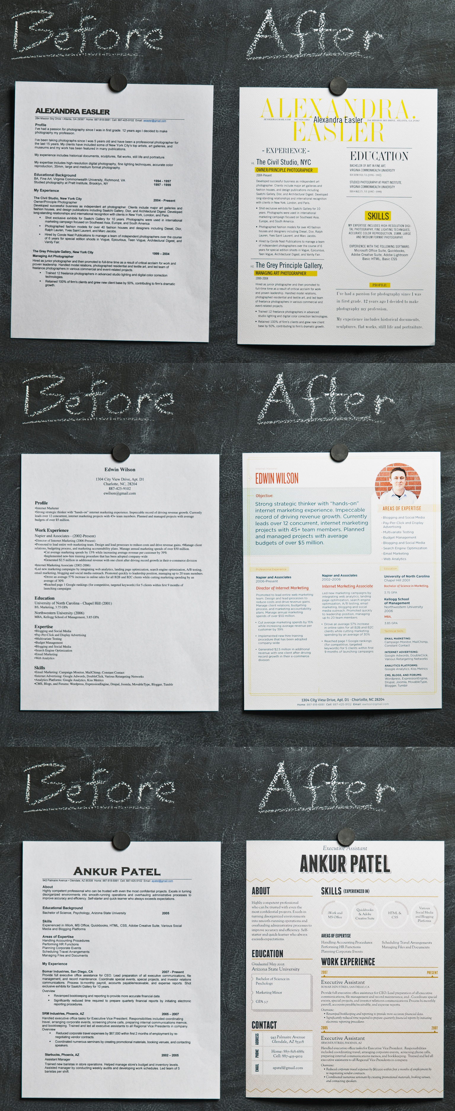 Creative Resumes That Get Your Hired