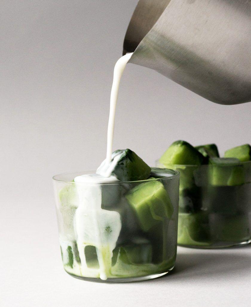 Iced Matcha (Green Tea) Latte That Tastes Better Than