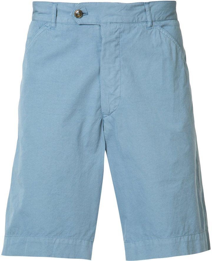 belted chino shorts - Blue Officine Generale ebcNn