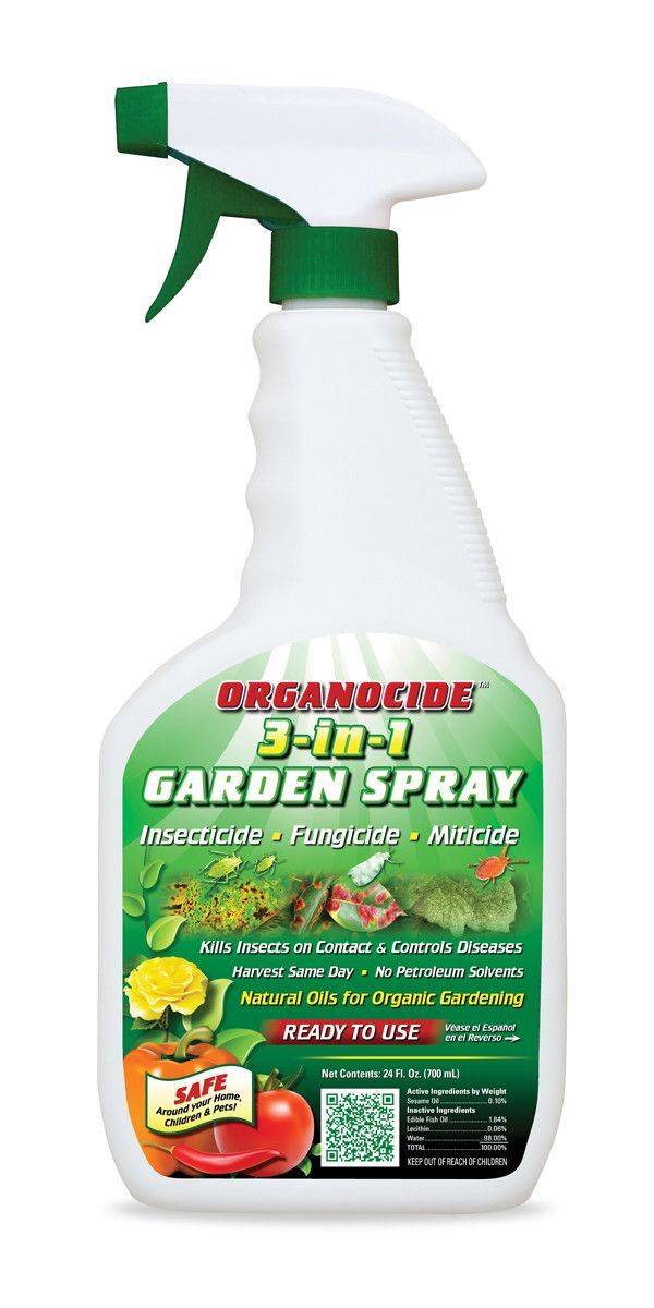 Organocide 3 In 1 Insecticide Miticide Fungicide Organic Insecticide Organic Pesticide Fungicide