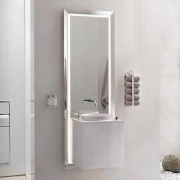Emco Touch Pure Möbelanlage Der Waschtisch besitzt eine - badezimmermöbel villeroy und boch