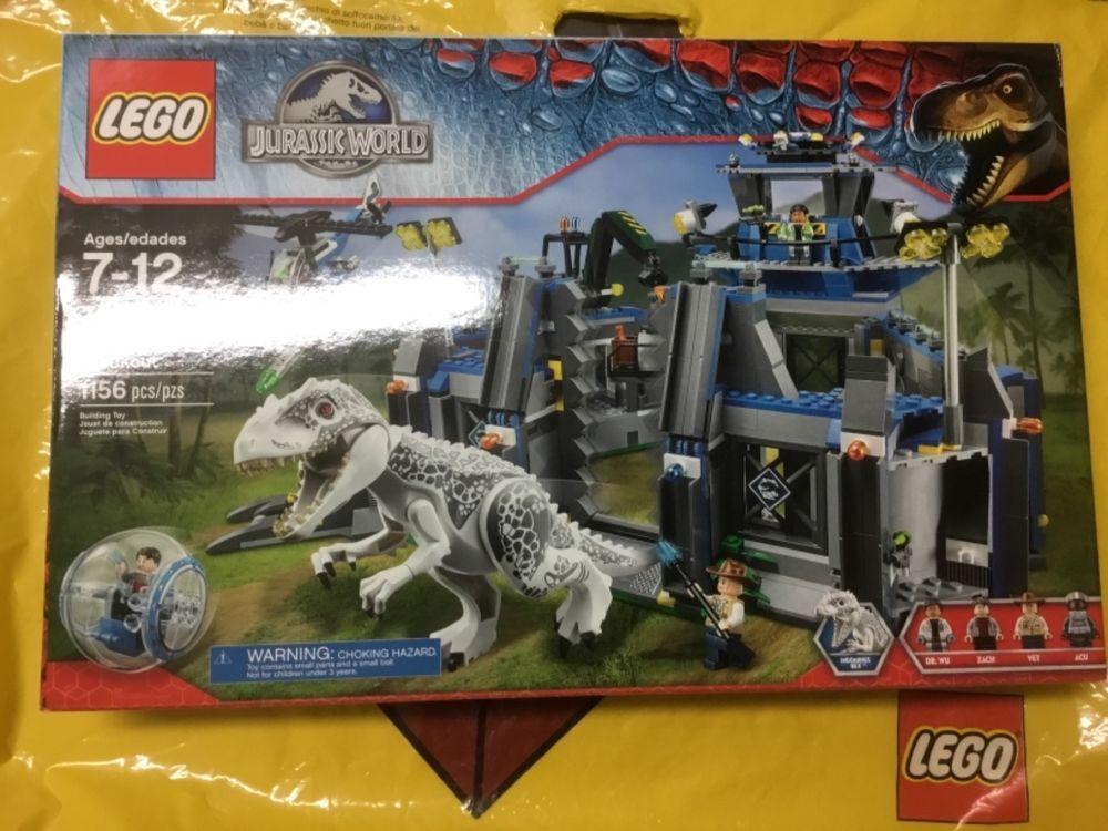 LEGO Jurassic World 75919 Indominus Rex Breakout New